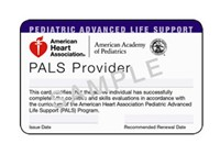 www.allcarecpr.com - PALS Certification